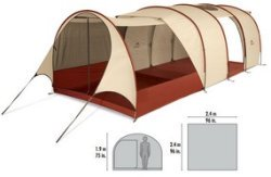 msr board room tent specs