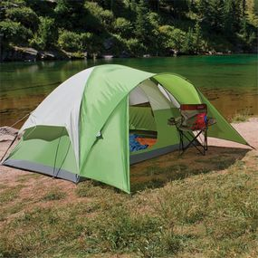 Coleman Evanston Tents - Advantages & Coleman Evanston Tent Reviews - 4 6 and 8 Person Family Tents