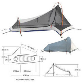 Mountain Hardwear Sprite Tent  sc 1 st  C&ing Tent Reviews & Mountain Hardwear Sprite Tent Review: A Roomy One Man Tent