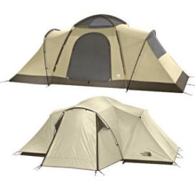 north face trailhead tent with and without rainfly