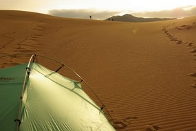 camping in the great sand dunes