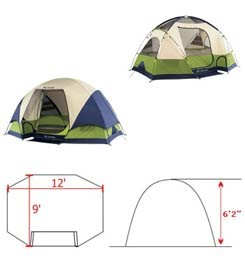 columbia bugaboo ii specs  sc 1 st  C&ing Tent Reviews & 5 Person Tents: Reviews of Best 5 Person Family Dome Tents