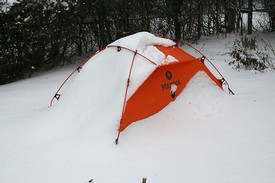 great 4 season tent & Marmot Alpinist Tent Review: Great 4 Seasons Tent for 2 People