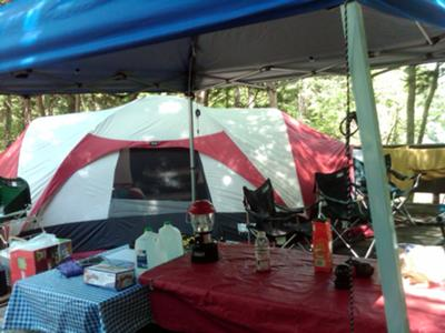 Edgar Evans State Park TN & You Either Love or Hate a Kelty Ridgeway Tent: Read Owner Reviews