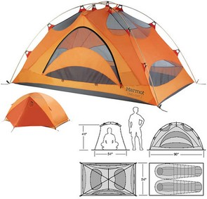 sc 1 st  C&ing Tent Reviews : marmot 2 person tent - memphite.com