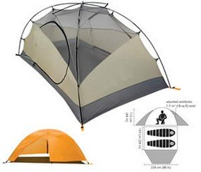 black diamond mesa tent