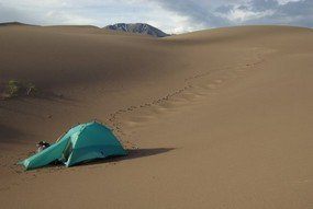 free tent camping site